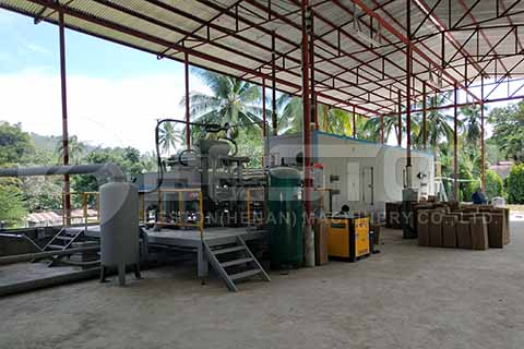 BTF1-4 Automatic Egg Tray Machine in the Philippines