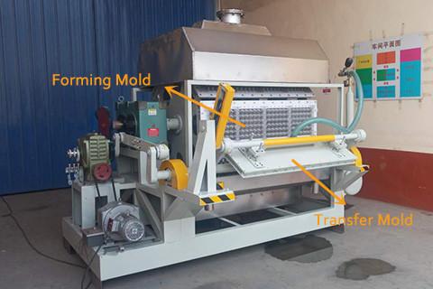 BTF4-8 Egg Tray Molding Machine