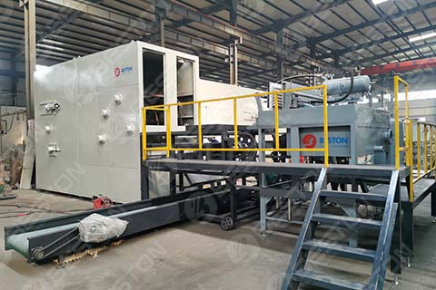 BTF1-4 Egg Tray Machine in the Philippines