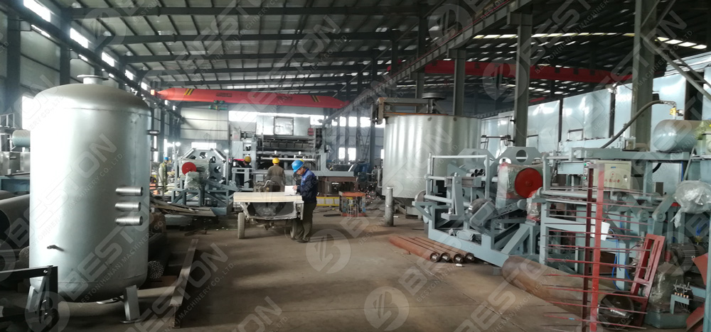 Beston Egg Tray Manufacturing Factory
