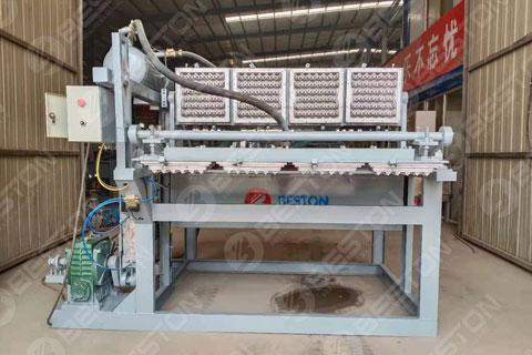 Beston Egg Tray Machine Shipped to Boliver