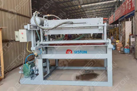 Beston Egg Tray Manufacturing Machine Shipped to Boliver