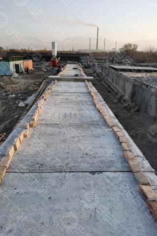 Brick Dryer Construction in Kyrgyzstan