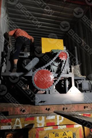 Delivery of Beston Egg Tray Making Machine Shipped to Saudi Arabia