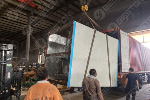 Delivery of Beston Metal Dryer Shipped to Saudi Arabia