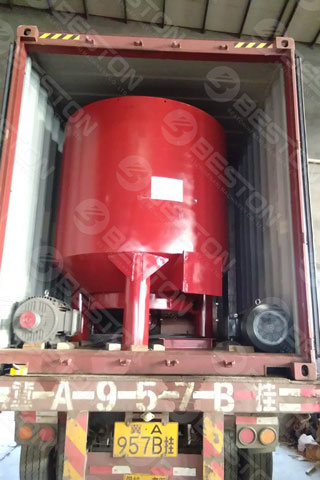 Delivery of Beston Pulping System Shipped to Saudi Arabia