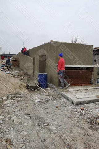 Dryer Room in Kyrgyzstan