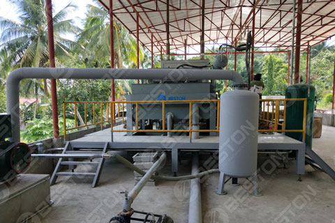 Beston Paper Egg Tray Making Machine Installed in the Philippines