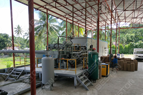 Egg Tray Making Machine Installed in the Philippines