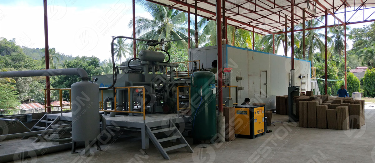 Manual Egg Tray Making Machine in the Philippines with Metal Dryer