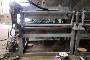 Paper Egg Tray Making Machine Shipped to Lesotho