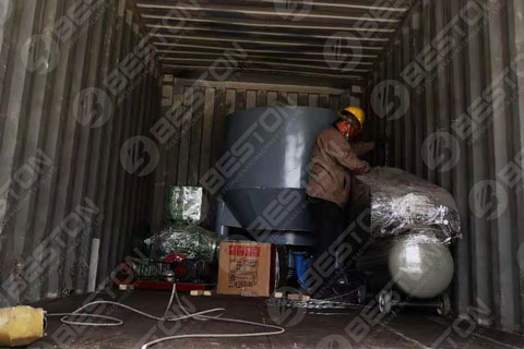 Pulping Equiment Shipped to Lesotho