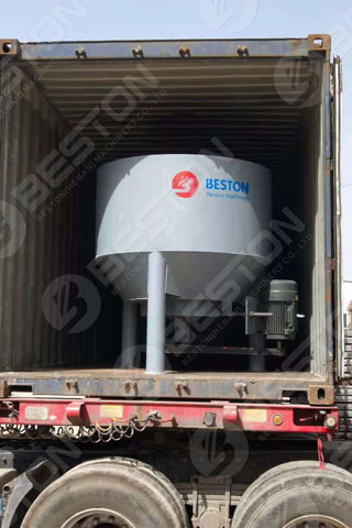 Pulping System Shipped to Lesotho