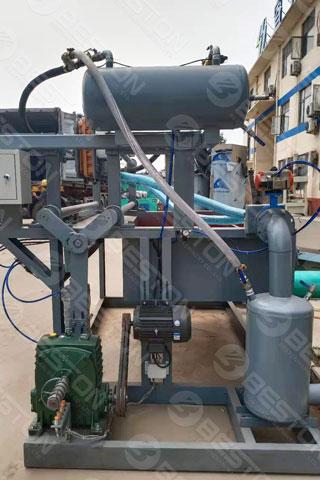 Beston Egg Tray Forming Machine Shipped to Peru