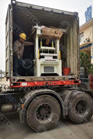 Paper Egg Tray Making Equipment Shipped to Zambia
