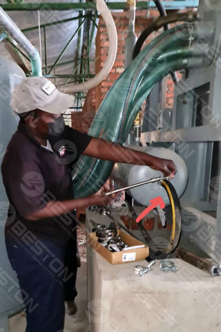 Paper Egg Tray Manufacturing Machine Installed in Zimbabwe