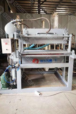Paper Egg Tray Manufacturing Machine Shipped to Zambia