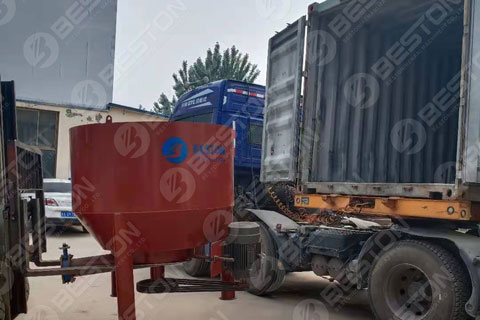 Paper Pulping Line Shipped to Peru
