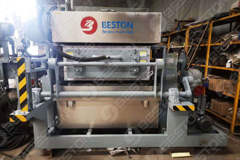 BTF3-4 Egg Tray Making Machine Delivered to Zambia