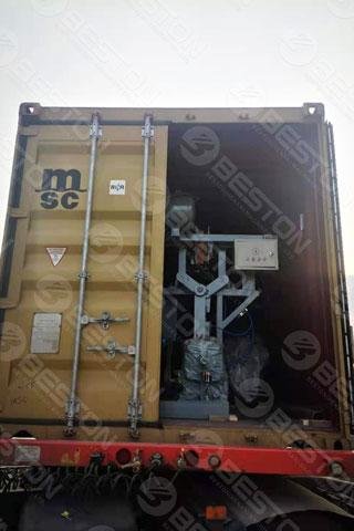 Beston Egg Tray Machine Shipped to Iraq