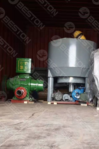 Beston Pulping System Shipped to Iraq