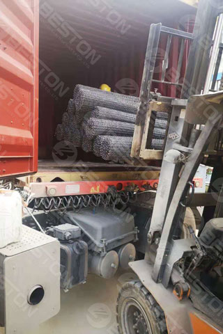 Delivery of Paper Egg Tray Machine to Iraq
