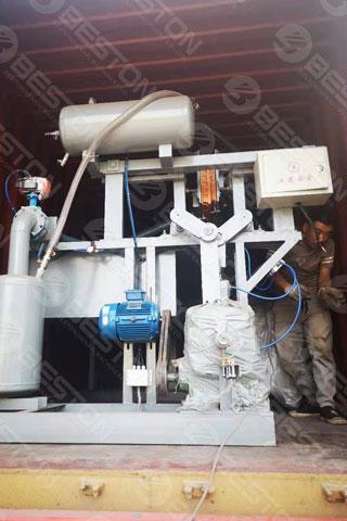 Egg Tray Machine Shipped to Iraq