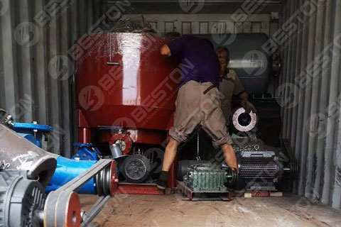 Pulp Molding Machine Delivered to Zambia