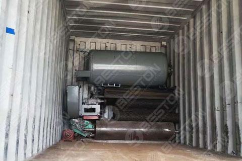 Pulp Molding Machine Shipped to Zambia