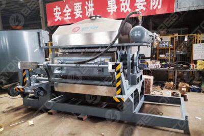 Automatic Egg Tray Machine Shipped to Senegal