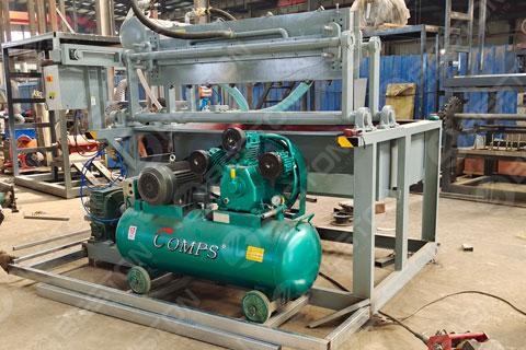 BTF1-4 Beston Egg Tray Making Machine Shipped to Burundi