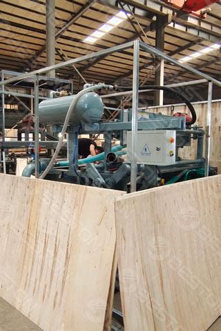 BTF1-4 Egg Tray Machine Shipped to Burundi