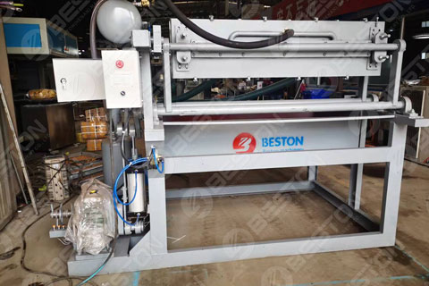 BTF1-4 Egg Tray Making Machine Shipped to Bangladesh