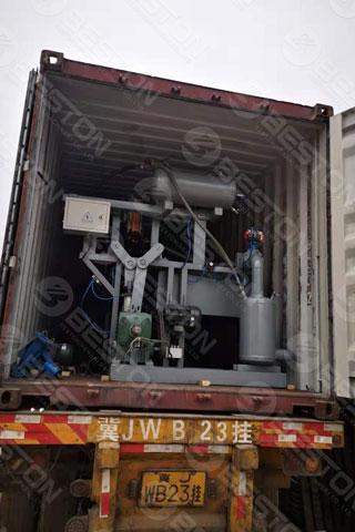 BTF1-4 Paper Egg Tray Making Machine Shipped to Sudan