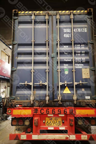 BTF4-4 Beston Cup Tray Machine Shipped to Colombia