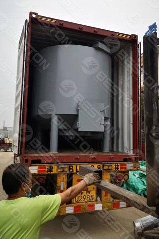 Beston Pulping Machine Shipped to Senegal