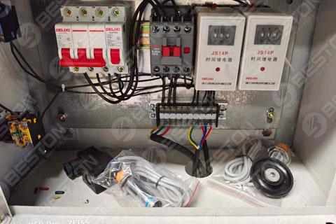 Egg Tray Machine PLC Shipped to Sudan