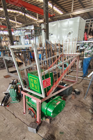 Parts of Egg Tray Machine Shipped to Burundi