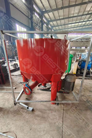 Pulping System Shipped to Peru
