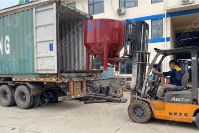 BTF1-3 Beston Manual Egg Tray Making Machine Shipped to Peru